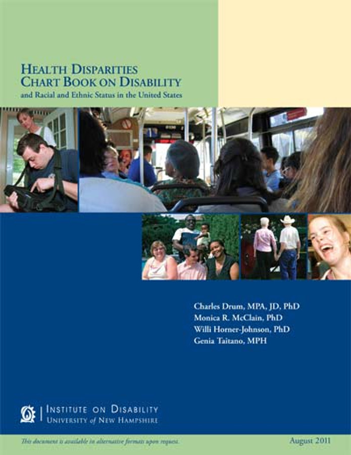 Health Disparities Chart Book on Disability and Racial and Ethnic Status in the United States