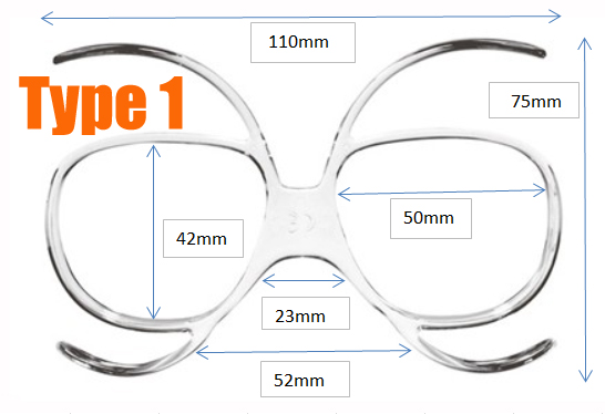 465ad6e95f Prescription Ski Goggles Insert - Goggles n More
