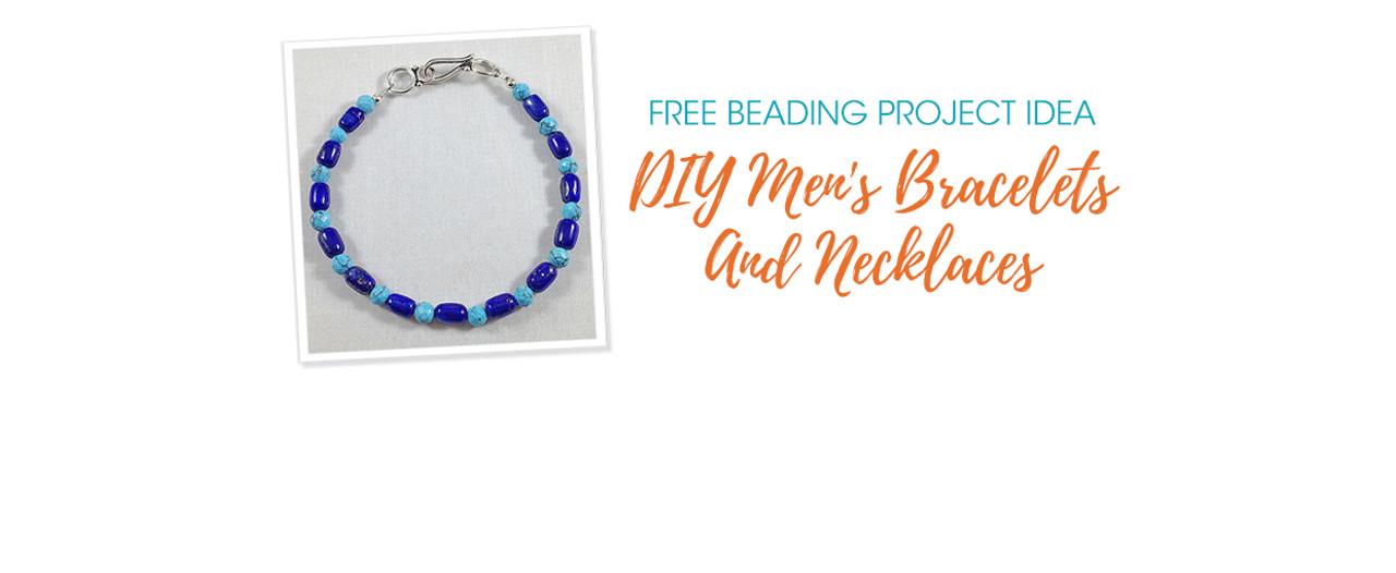 DIY Men's Bracelets And Necklaces
