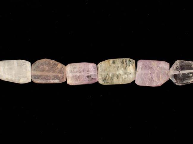 30 Gr Simple Cut Kunzite Gemstones (Sale)