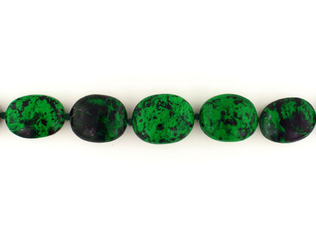 22 Count Green To Black Graduated Polished Nuggets '1 Of A Kind' (Sale)
