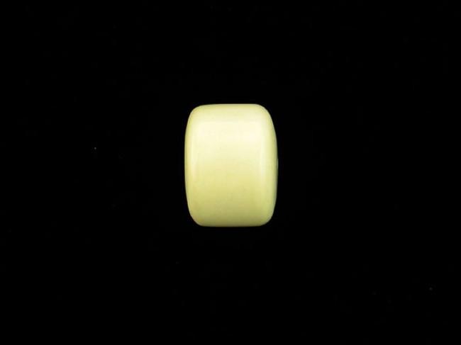 1 Count 22mm Lemon Chrysoprase Polished  Barrel (Sale)