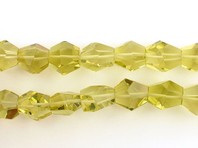 31 Count Varied Size Lemon Citrine Faceted Nuggets (Sale)