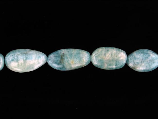 10 Count Aquamarine Polished Nuggets '1 Of A Kind' (Sale)