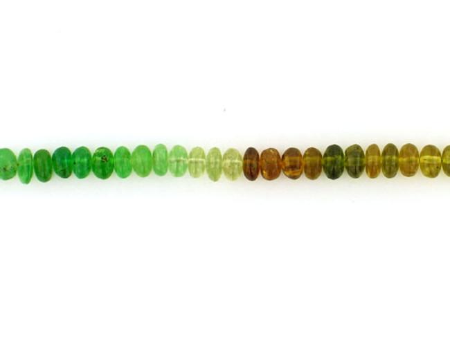 120 Count 6mm Multicolor Garnet Smooth Polished Rondelles (Sale)
