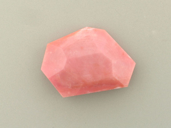 1 Count Large Pink Opal Faceted Slab (4) (Sale)