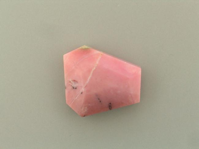 1 Count Large Pink Opal Faceted Slab (6) (Sale)