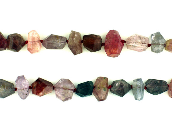 39 Count Varied Size Multi Color Spinel Simple Cut Nuggets (Sale)