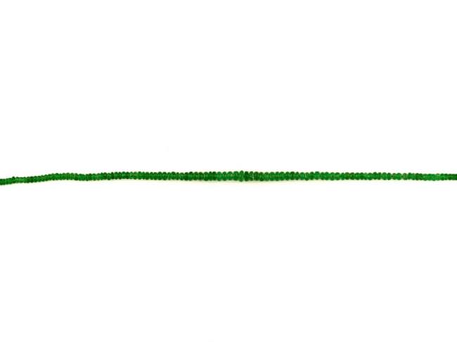 230 Count Graduated Spring Green Tsavorite Garnet Faceted Rondelles (Sale)