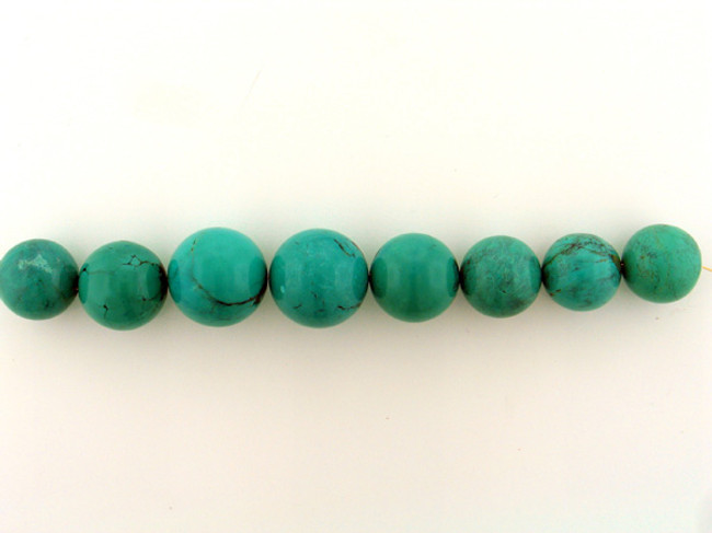 8 Count Graduated Blue Turquoise Rounds (Sale)
