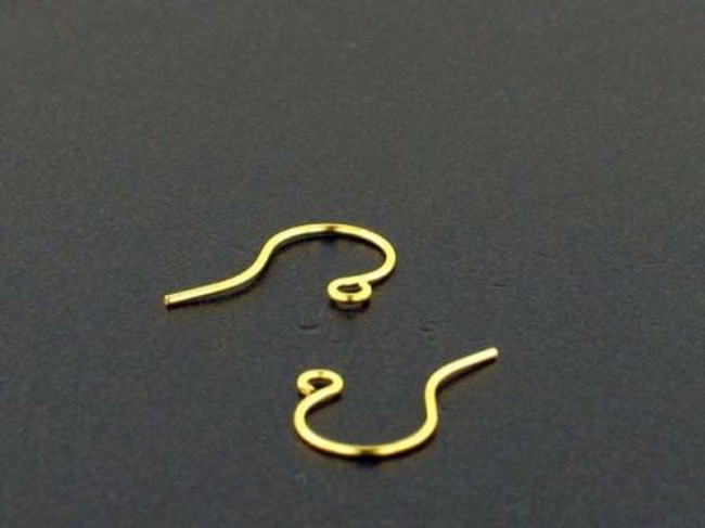 1 Pair Brass Large Casting Ear Wires