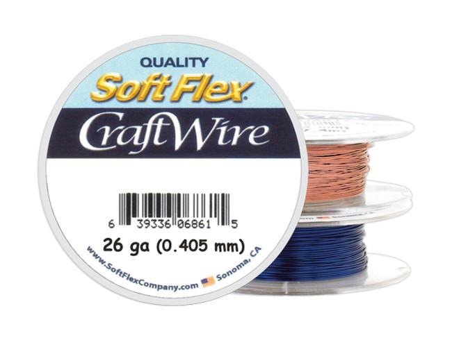 Soft Flex Craft Wire - 26ga/.405mm - 90 ft/30 yd/27 m
