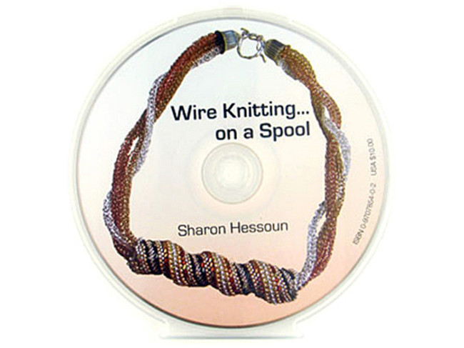 Wire Knitting Book On CD