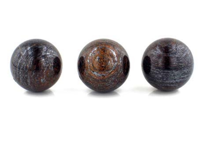 3 Count 20mm Bronzite Polished Rounds (Sale)