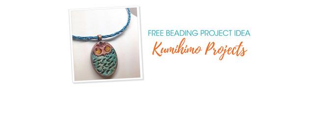 Free Beading Project Idea: Kumihimo Projects