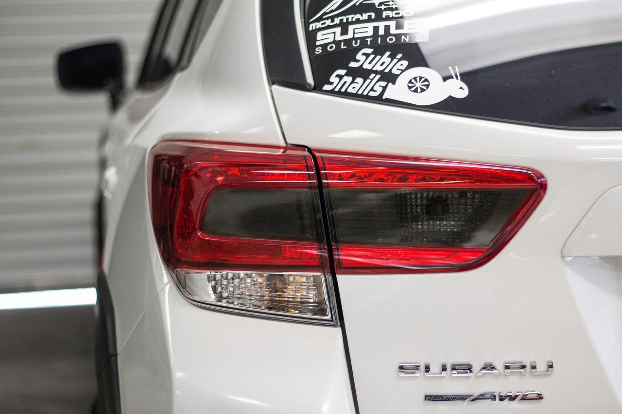 ... 2018 + Crosstrek XV Smoked Tail Light Overlay ( Option S) ...