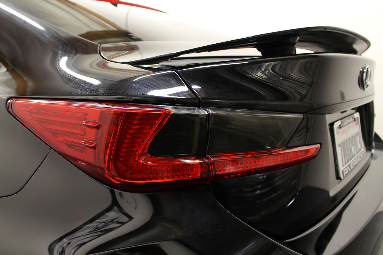 ... Lexus RC Smoked Tail Light Overlay Inserts ( 2015 2018 RC) ...