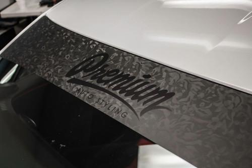 Shadow Black / Satin Black Windshield Banner ( Limited )