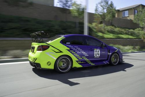 Premium AutoGraph Decal   Large Race Orientation Set of 2
