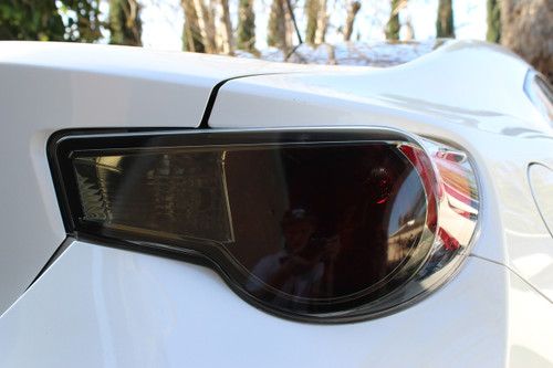 Scion FR-S Smoked Tail Light Overlay (2013-2017 Scion FRS)