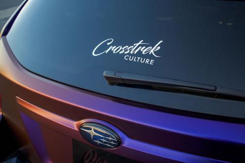 Crosstrek Culture Decal