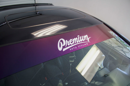 Premium Signature Window Banner ( COLORSHIFT )