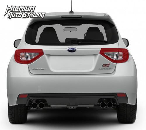 2008 2014 Subaru Wrx Amp Sti Hatchback Red Tail Light Tint