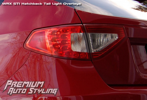 2008 2014 Subaru Wrx Amp Sti Hatchback Red Tail Light Tint