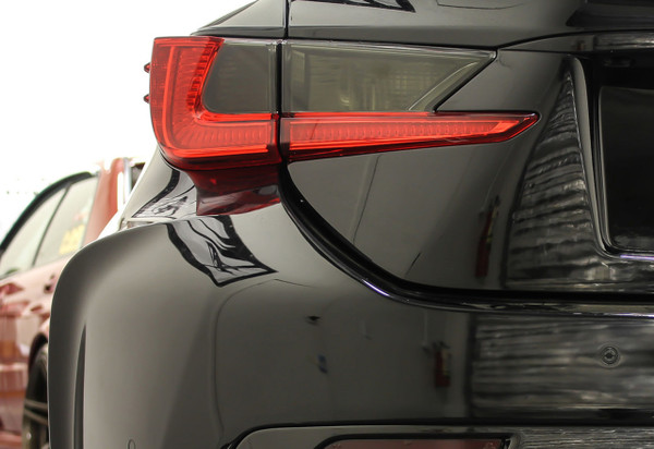 Lexus Rc Smoked Tail Light Overlay Inserts 2015 2018 Rc