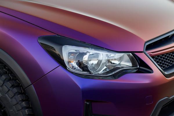 Subaru Crosstrek Accessories >> Crosstrek XV / Impreza Headlight Amber Delete Tint Overlay ...