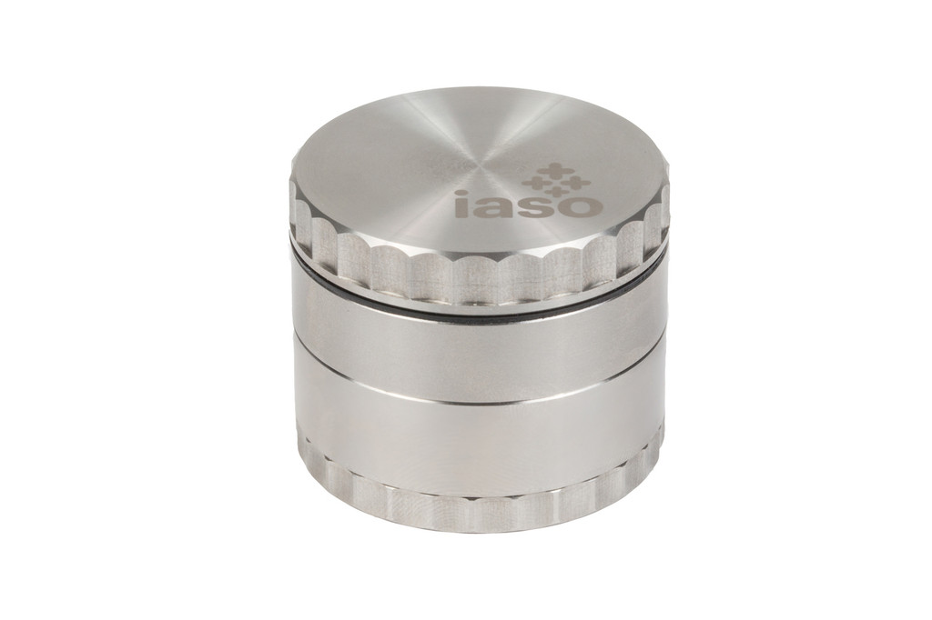Four Piece Stainless Steel Grinder