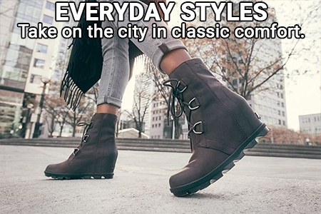 Sorel everyday boot styles for women.