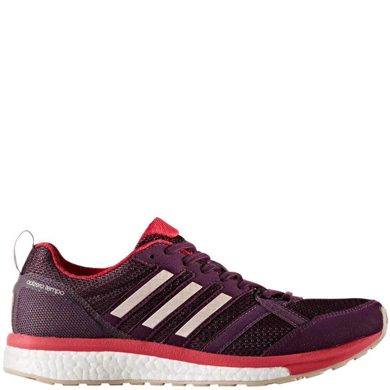 ffc5470a31db4 Womens Adidas Adizero Tempo 9 Category  Running Color  Red Night - Icey  Pink -