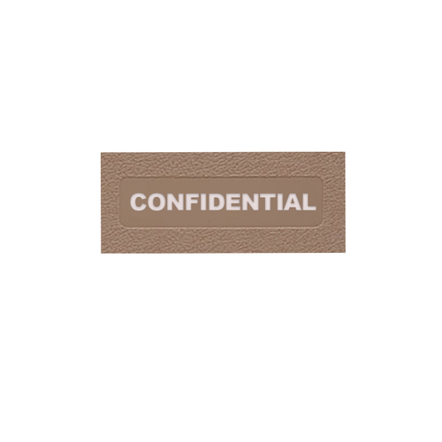 Confidential Manual: Side Open
