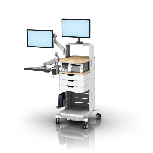 Fetal Monitor Mobile Workstation