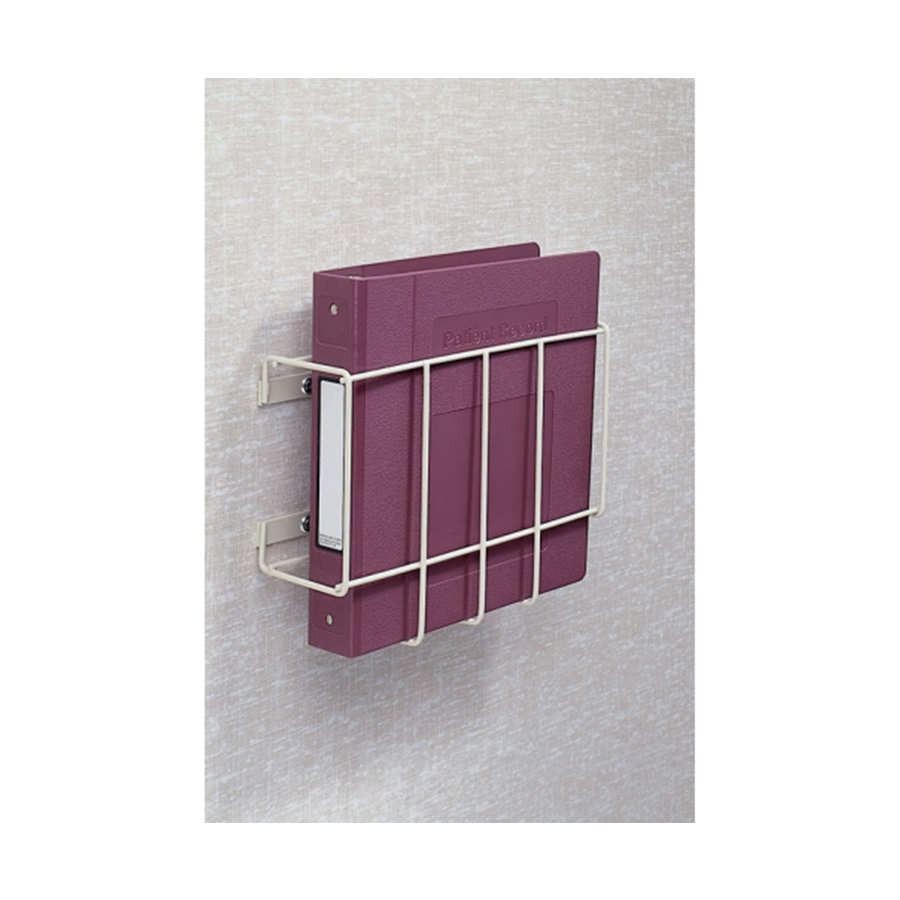 Wire Wall Mount Chart Holder Beige - First Healthcare Products
