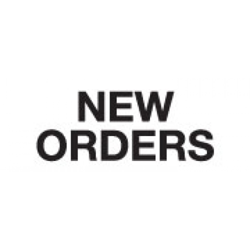 """NEW ORDERS"" White Label 2 1/4"" x 15/16"""