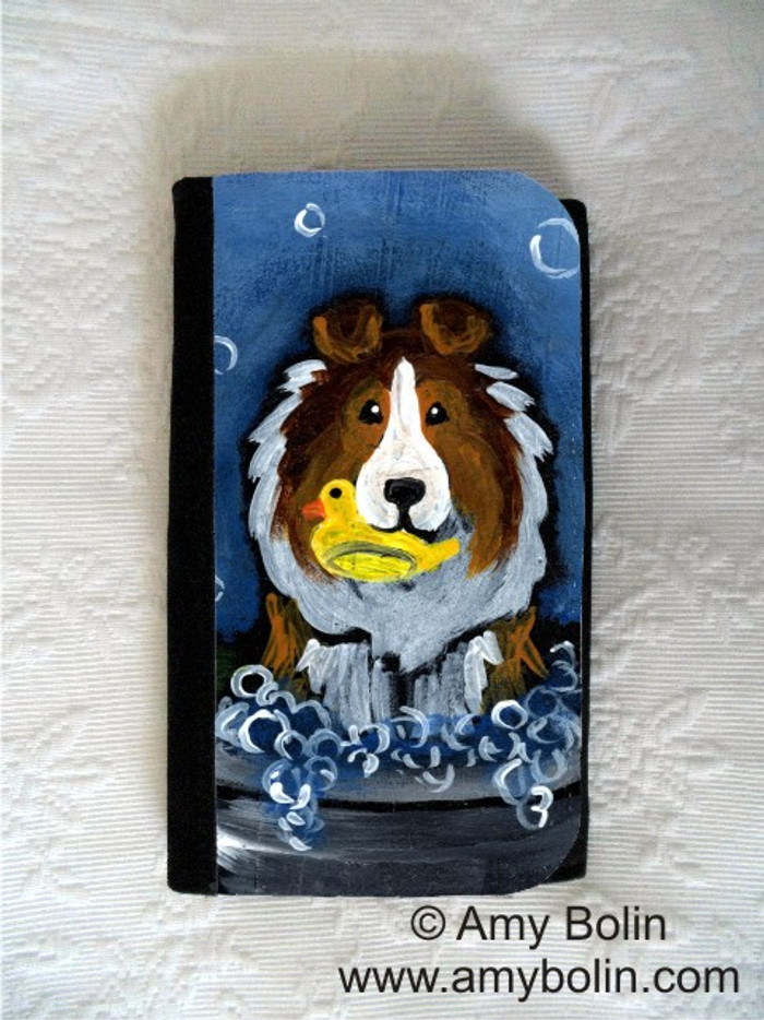 LARGE ORGANIZER WALLET · THE WASH TUB · SABLE SHELTIE · AMY BOLIN