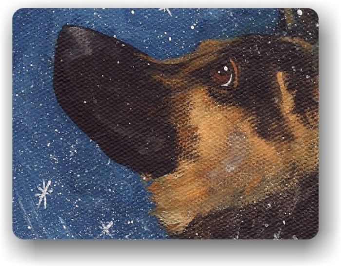 MAGNET · WISH UPON A SNOWFLAKE · GERMAN SHEPHERD · AMY BOLIN