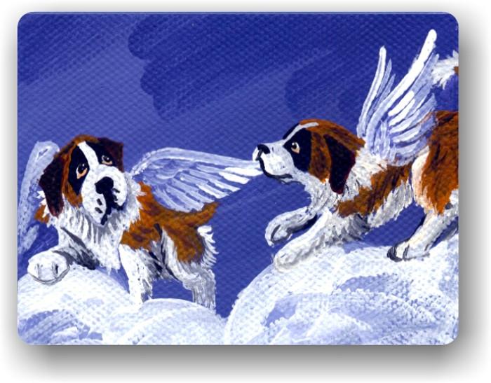 MAGNET · LITTLE ANGELS     · SAINT BERNARD · AMY BOLIN