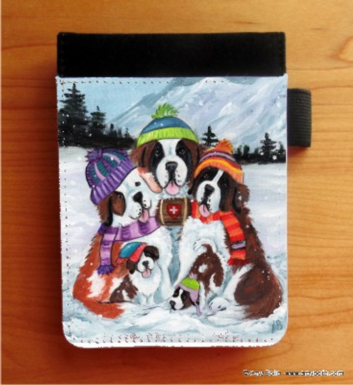 NOTEBOOKS (SEVERAL SIZES AVAILABLE) · GENERATIONS · SAINT BERNARD · AMY BOLIN