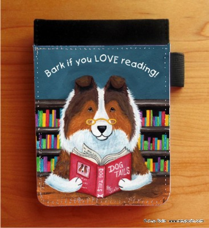 NOTEBOOKS (SEVERAL SIZES AVAILABLE) · DOG TAILS VOL 3 · SABLE SHELTIE · AMY BOLIN