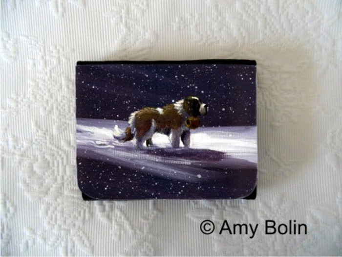 SMALL ORGANIZER WALLET · A RAY OF HOPE · SAINT BERNARD · AMY BOLIN