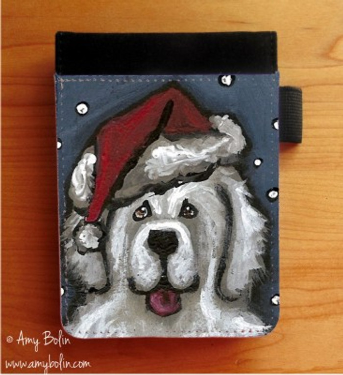 NOTEBOOKS (SEVERAL SIZES AVAILABLE) · SHAGGY CLAWS · GREAT PYRENEES · AMY BOLIN