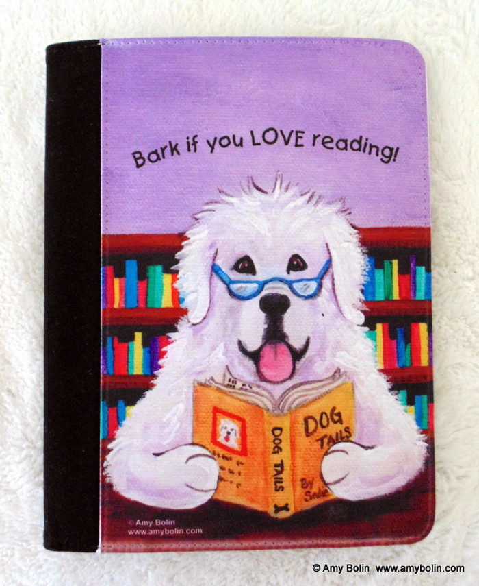 NOTEBOOKS (SEVERAL SIZES AVAILABLE) · DOG TAILS VOL 2 · GREAT PYRENEES · AMY BOLIN