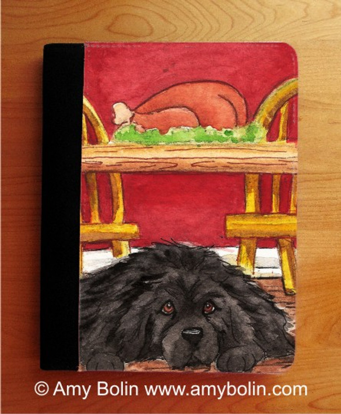 NOTEBOOKS (SEVERAL SIZES AVAILABLE) · SO HARD TO BE GOOD · BLACK NEWFOUNDLAND · AMY BOLIN