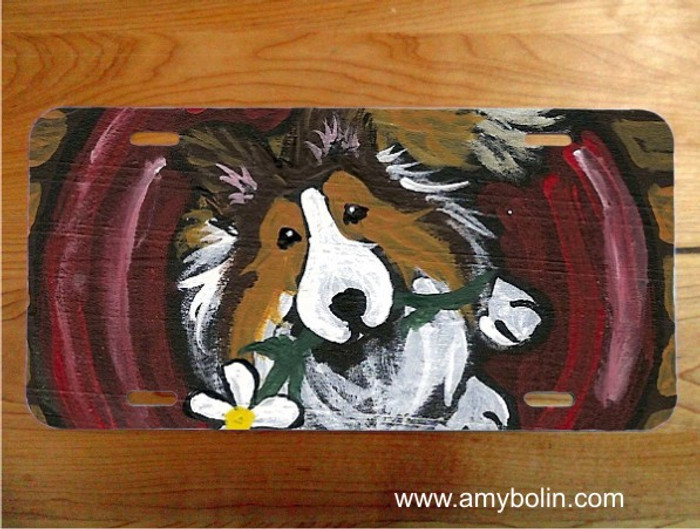 LICENSE PLATE · BE MINE · SABLE SHELTIE · AMY BOLIN