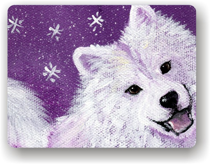 MAGNET · WISH UPON A SNOWFLAKE · SAMOYED · AMY BOLIN