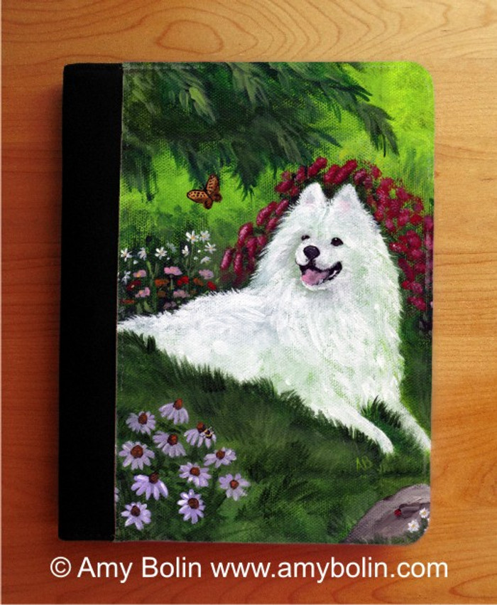 NOTEBOOKS (SEVERAL SIZES AVAILABLE) · SUMMER BLISS · SAMOYED · AMY BOLIN