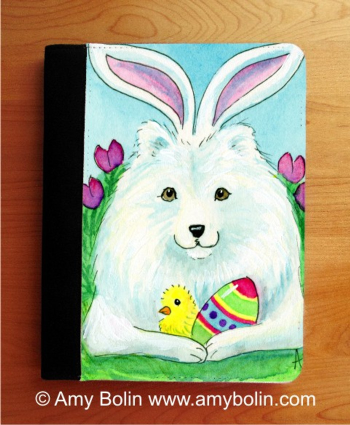 NOTEBOOKS (SEVERAL SIZES AVAILABLE) · EASTER SAMMY · SAMOYED · AMY BOLIN